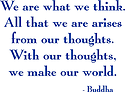 A quote from the Buddha that is true, and yet open to misinterpretation by many.